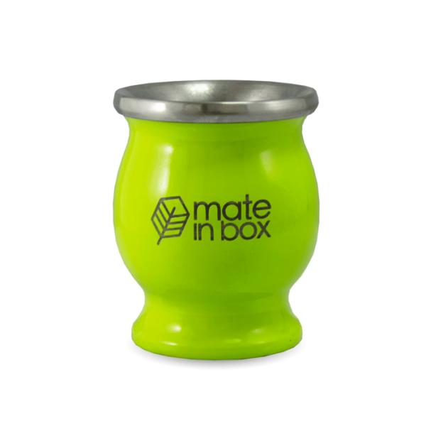 Cuia Verde Inox Mate in Box