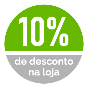 10% de desconto em todos os produtos da Loja