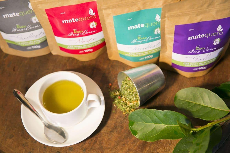 Chá para Emagrecer de Erva-mate, simples e prático