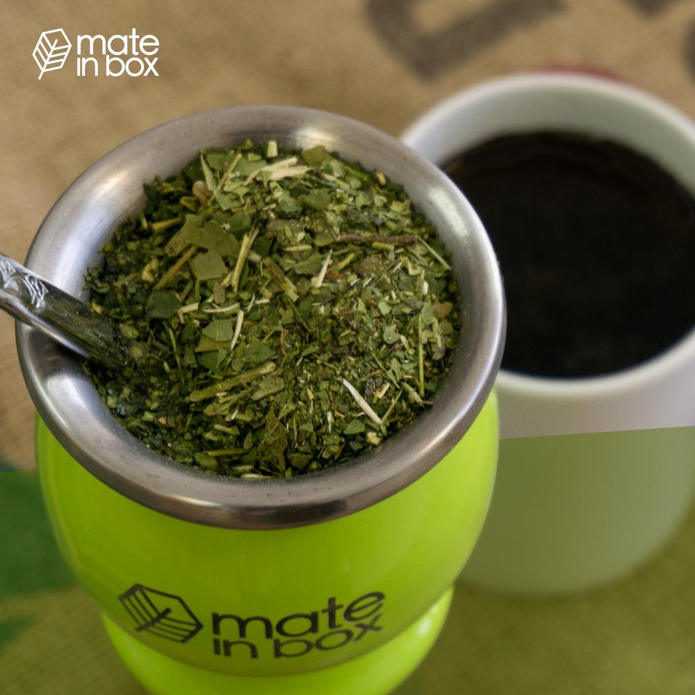 como o substituir o cafe de forma saudável com erva-mate