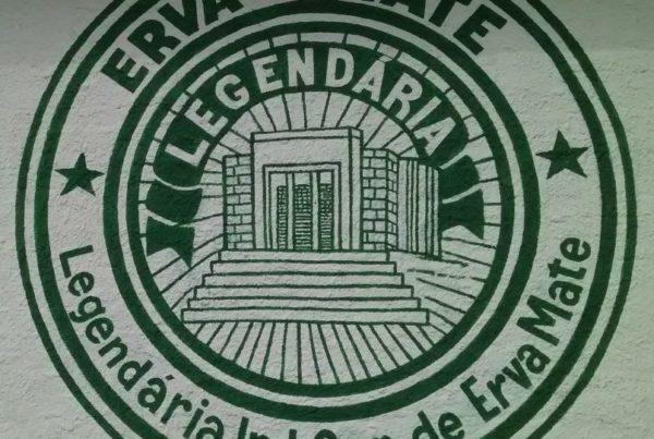 Logo antigo erva-mate Legendária (70 anos)